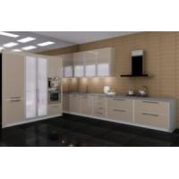 Cheap Kitchen Cabinet with High Glossy Material (ZH002) for sale