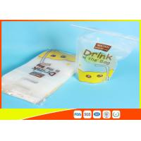 Buy cheap Reusable Stand Up Ziplock Bags / Liquid Resealable Stand Up Pouches from wholesalers