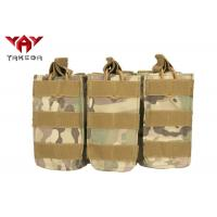 Buy cheap Military Molle Gear Accessories Compatible Open Top Triple Mag Pouch For M4 M17 from wholesalers