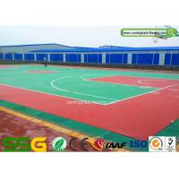 Cheap Basketball Silicon PU Sports Flooring Fadeless Surface Waterproof for sale