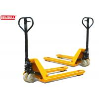 Cheap TUV 5 Ton Hydraulic Hand Pallet Truck For Wharf , 54mm Fork Thickness for sale