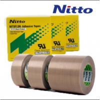 Cheap Nitto 973UL High Temperature PTFE PTFE Fiberglass Tape with Silicone Adhesive for sale