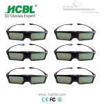 Cheap Universal Active 3D Eyewear BT 3D Shutter Glasses For Sharp / Changhong / Skyworth / Konka for sale