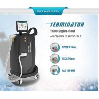 Cheap 2017 Hottest 810nm 755nm 1064 nm permanent hair removal /skin rejuvenation diode laser machine for sale