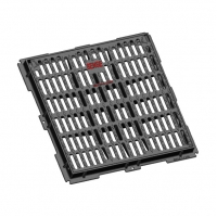 China Gully Grating Double Triangle Cast Iron Gully Grate EN1433 on sale