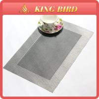 Cheap Eco-friendly Plastic PP Weave Placemat Dinner Accessory For Table Home Decoration for sale