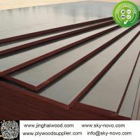 Cheap Brown film face plywood 18mm shuttering boards/formwork for sale