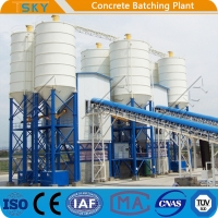Cheap FDA HLS240 High Efficiency 4.0m Tower Batching Plant for sale