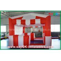 Buy cheap Red And White 210 D Oxford Cloth Inflatable Bounce For Children from wholesalers