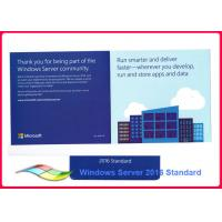 Buy cheap Genuine Windows Server 2016 Standard 64bit Operating Systems 100% Activate Online Lifetime Warranty from wholesalers