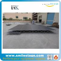 Cheap  4'*4' aluminum used mobile stage for performances for sale