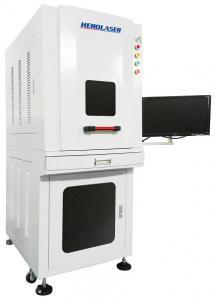Cheap CE Certificate 100W Fiber Laser Printing Machine Enclosure Type for sale