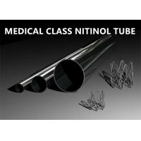 Cheap Superior Shape Memory Special Alloys Nitinol Tube for sale