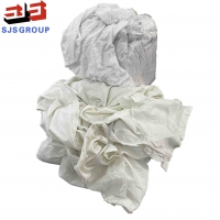 Cheap Lint Free White Cotton Rags For Marine Cleaning for sale