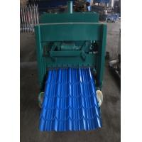 Cheap Metal Sheet Glazed Tile Roll Forming Machine For Building Material Production for sale