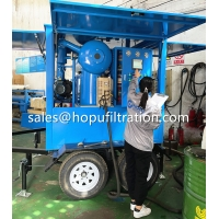 Cheap Mobile Trolley PLC type Vegetable Transformer Oil Purifier, Movable Transformer Oil Filtration Service Equipment for sale