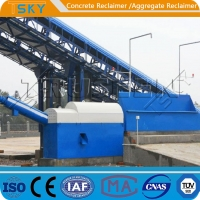 Cheap THST20 Small Space 7KW 20tph Concrete Separator for sale