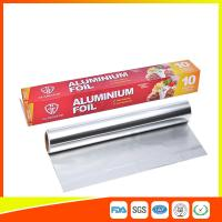 Cheap Customized Household Aluminum Foil Roll For Food Wrapping , Aluminum Foil Paper for sale