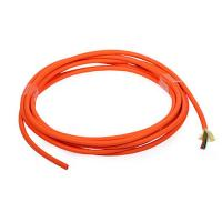 Cheap Orange 8 cores Multimode indoor Fiber Optic Cable for telecommunications for sale