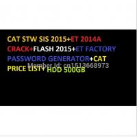Cheap FOR CAT SIS 10-2015 FULL Parts and repair + ET 2015A and SIS Activator + Flash File 2015+ET Factory Keygen 5in1withHDD50 for sale