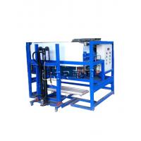 Buy cheap 1 Tons Block Ice Making Machine With Integral Unit Structure 480KG Water Consumption from wholesalers