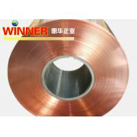 Cheap Low Resistance Nickel Clad Copper , Good Conductivity Copper Composite Material for sale
