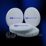 Cheap 98.5mm ST Translucent Monolayer Zirconia Blocks Dental Zrconium Disk CADCAM Milling Blanks for sale