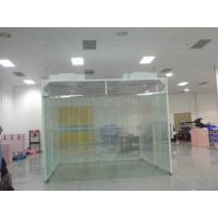 Cheap Smooth Operated Prefabricated Clean Room , Mobile Clean Room Fan Filter Unit Inside for sale