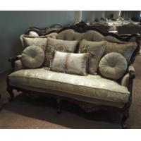 Cheap Luxury Furniture Classic Living Room Royal Wooden Sofa Set for sale