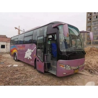 Cheap Yutong ZK6107 Used Coach Bus For Africa Steel Chassis 47 Seats Left Steering Euro III Good Condition Low Kilometer for sale