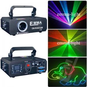 Cheap ILDA+SD+3D 1.2W RGB laser show system/dj equipment/laser light/stage light/holiday dj laser light for sale