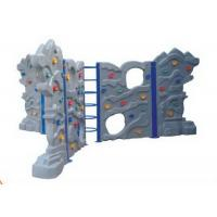 Cheap Anti Static Plastic Climbing Wall Panels For Toddler 6CBM Volume for sale