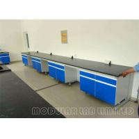 Cheap High School Lab Equipment Science Lab Classroom Furniture with Science Lab Chairs for sale