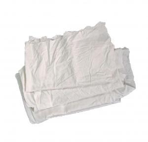 Cheap Low Lint 25Kg/Bale 100cm White Cloth Rags for sale
