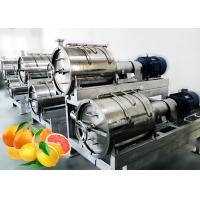 Cheap SS304 Turnkey Citrus Processing Line Automatic Orange Juice Processing Equipment 10T/H for sale
