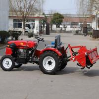 Cheap 25HP Used Agriculture Machinery Small Farm Tractor With Rotary Tiller And Corn Seeder for sale
