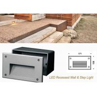 Cheap Waterproof Outdoor Recessed LED Wall Lights ,3W Decoration LED Step Light for sale