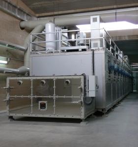 Cheap Belt Sludge Drying Equipment Sewage Sludge Dryer System Energy Saving for sale