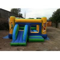 Cheap Pirate Inflatable Bouncers / Pirate Combo Bounce House with Slide Hire for sale