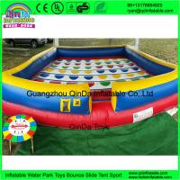Cheap kids sport games new square playing game mat large inflatable twister game for sale for sale