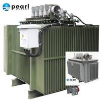 Cheap Compact Size Oil Immersed Transformer 6.6 kV - 1250 kVA Eco Friendly Three Phase for sale