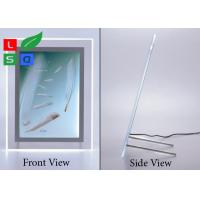Cheap High Brightness Crystal LED Light Box , A3 A4 A5 Image Size Light Box Display For Crystals for sale