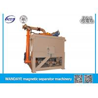 Automatic Oil - Cooling Electromagnetic Slurry Separator , Magnetic Ore Separator