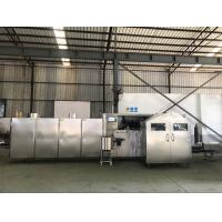 Cheap L8.7xW2.1xH2M Polished Ice Cream Cone Biscuit Making Machine for sale