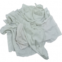 Cheap No Stain White T Shirt 100% Cotton Clothing Rags for sale