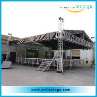 Cheap Aluminum Stages With Roof Truss Type For Outdoor Ceremony Show for sale