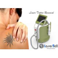 Cheap 1064nm 532nm q switch nd yag laser treatment Tattoo Removal Machine 2 - 8mm Spot Size ABS Shell for sale