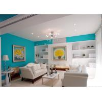Cheap Eco Friendly Interior Wall Pro Silk Emulsion Paint For Landmark Building / Villas for sale