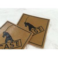 Cheap Best price customized pu label embossed/metal leather label patch for clothes garment for sale