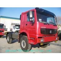 Cheap HOWO 4x4 Manual Prime Mover Truck All Wheel Drive with 7100kg Payload for sale